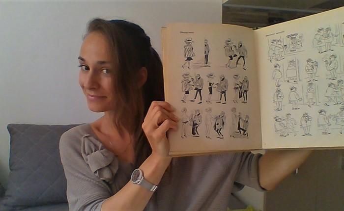 Новите карикатури: Гиф мимийм